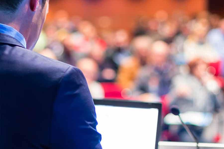 Servizio di interpretariato durante un congresso