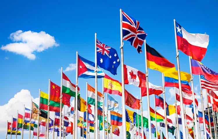 Bandiere di tutte le nazioni