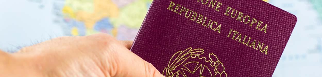 Passaporto per cittadinanza italiana