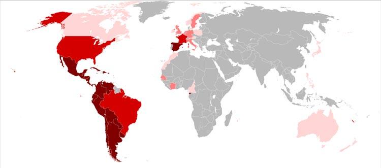 Paesi nei quali si parla la lingua spagnola